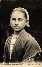 CPA  Moeurs et Types Bretons - Jeune Fille de Douarnenez (206596)