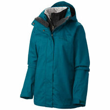 COLUMBIA Womens Sleet to street 3 in 1 Winter Snow Jacket coat ski Deep Wave  M