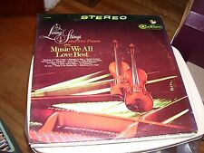 LIVING STRINGS PLUS TWO PIANOS PLAY MUSIC WE ALL LOVE BEST-LP-VG+-RCA CAMDEN
