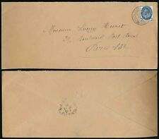 GB 1929 PUC CONGRESS CANCEL SINGLE 2 1/2d FRANKING to PARIS EMBOSSED ENVELOPE