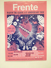 FRENTE 2014 Marvin The Album 21st Anniversary Australian Tour Poster Shape *NEW*