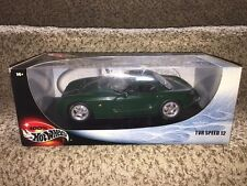 100% Hot Wheels TVR Speed 12 Die Cast 1:18 Scale, MIB