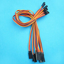 10 x 30cm Servo Extension Lead Cable 22AWG 60 Cores wire For Futaba JR
