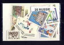 Russie - Russia 25 timbres différents