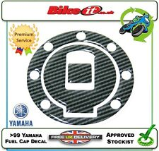 NEW MOTORCYCLE FUEL FILLER CAP COVER DECAL CARBON EFFECT YAMAHA XJ600N DIVERSION