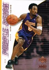 Carte card NBA Upper Deck Game jersey edition 2001 - N° 444 - Kobe BRYANT
