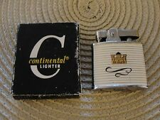 RARE VINTAGE AUTHENTIC KENT CIGARETTES CMC CONTINENTAL LIGHTER IN BOX MADE JAPAN
