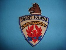 WH PATCH USAF 6313th AIR POLICE SÊCURITY SQ K-9   NIGHT HAWKS