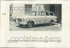 1958 Vintage 1959 American Rambler Station Wagon Auto  Press Photo