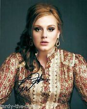Adele  8 x 10 Autograph Reprint Singer-songwriter Rolling In the Deep Skyfall