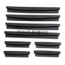 8PCS Door Edge Guards Trim Molding Protector Scratch Kit Black