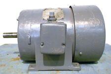 GE TRICLAD INDUCTION MOTOR 5K215BG625, 6HP 1155 RPM 220/440V 3 PHASE 60 HZ