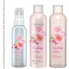 Avon Naturals Cherry Blossom Set: Shower Gel, Body Lotion, Spritz (RRP £8.90)