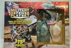 Military Defense Playset 75 pcs tanks jets helicopter bunker soldiers flag