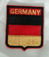GERMANY SHIELD HAT PATCH GERMAN FLAG Deutschland Aufnäher Shield