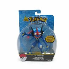 "Tomy Pokemon Ash-Greninja 6"" Hero Articulated Action Figure USA Seller Authentic"