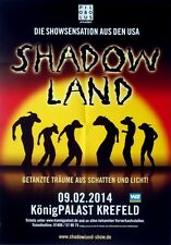 SHADOW LAND - 2014 - Plakat - Tourposter