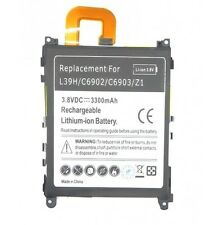 Battery Internal Compatible for Sony Xperia Z1 C6903 Akkun Baterry 3300mAH