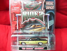 "MAISTO.. URBAN RIDEZ... 1965 BUICK RIVIERA...TWO TONE COLOR..""NEW"" SCALE 1/64.."