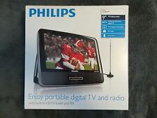Philips PT902/37 Portable 9-inch Digital HDTV with FM Tuner - NEW!