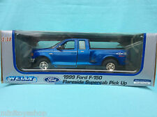 Welly  Ford F-150 Flareside Supercab Pick Up Die Cast Metal 1:18 ovp