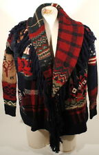 Ralph Lauren Indian Chief Americana Flag Sweater Cardigan XS Shawl New  $798 A2A