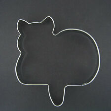 """CURLED TAIL CAT 4"""" METAL COOKIE CUTTER FONDANT STENCIL PARTY FAVOR NEW"""