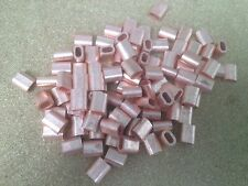 10x Copper Talurit Ferrules for 3mm /3.5mm Stainless Steel Wire Rope Rigging
