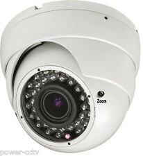 HD 1300TVL 2.8-12mm VariFocal Lens 36IR Infrared Vision CCTV Security Camera