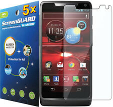 5x Clear LCD Screen Protector Cover Film for Motorola Droid RAZR M / Luge XT907