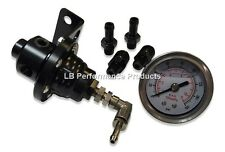 Precision Adjustable Fuel Pressure Regulator Injection / Turbo Car - Black