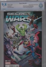 Secret Wars #1 CBCS graded 9.8 Marvel July 2015 SuperHeroStuff.com Exclusive