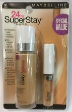 Maybelline SuperStay 24Hr Makeup NUDE With Maybelline Superstay Concealer CREAM.