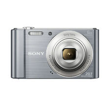 Brand New Sealed Sony CyberShot DSC-W810 20.1MP Digital Camera Silver 6x Zoom