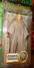 LORD OF THE RINGS COUNCIL LEGOLAS FIGURE MINT ON CARD FREE U.S. SHIPPING