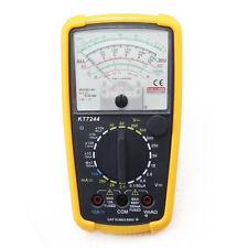 KT-7244 Pointer Display Analog Multimeter Volt Meter AC DC OHM Tester UK
