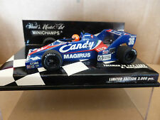 Minichamps 1:43 Bruno Giacomelli Toleman TG183 Candy F1 1983