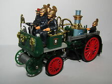 MATCHBOX MODELS OF YESTERYEAR 1905 BUSCH SELF PROPELLED FIRE ENGINE 1/43  YS-43