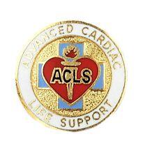 Advanced Cardiac Life Support Pin ACLS Medical Emblem New EMS EMT 2080 New