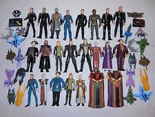 BABYLON 5 LOT OF 23 FIGURES(some rare!), 19 SHIPS & 4 PATCHES