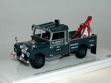 "TrueScale TSM154358, Land Rover Series I 107"" Recovery Truck BARNES GARAGE, 1/43"