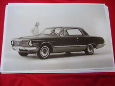 1964 PLYMOUTH VALIANT SIGNET COUPE   11 X 17  PHOTO   PICTURE
