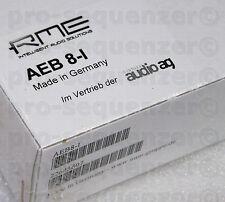 RME AEB 8-I Expansion Input Board für HDSP 9652 9632 8Channel + Neu OVP Garantie