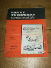 REVUE TECHNIQUE AUTOMOBILE n° 325 juin 1976 CITOëN GS 1220 Peugeot 504 L R8