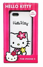 SAKAR White HELLO KITTY Phone CASE Durable Sturdy Protective For iPHONE 5 NEW!