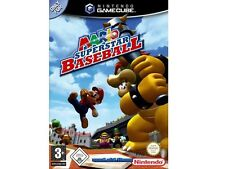 ## Mario Superstar Baseball (Deutsch) Nintendo GameCube Spiel // GC & Wii ##