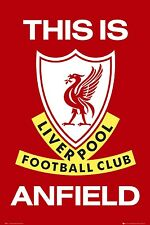 Liverpool FC Poster This Is Anfield Football Club New