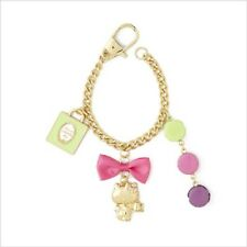 Laduree Marks New Hello Kitty Key Chain Ring Charm Macaron Eiffel Tower #376