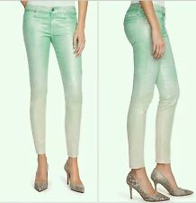 $168 guess by Marciano green The Skinny No. 61 Opaline Ombre Wash size 26