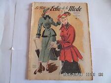 LE PETIT ECHO DE LA MODE N°41 10 OCTOBRE 1948      J31